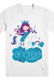 Unicorn Princess Tee (White)