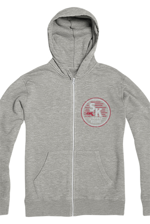 Timestamp Zipup (Eco Heather Grey)