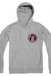 The Best Ways Zip Hoodie (Heather Grey)