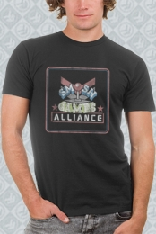 Smosh Games Alliance Vintage Tee (Charcoal)