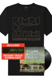 Jukestone Paradise LP + Tee + Instant Download Of The Booty Text Track