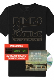 Jukestone Paradise CD + Tee + Instant Download Of The Booty Text Track