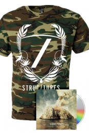 Crest Logo Camo Tee + Signed All Of The Above EP CD