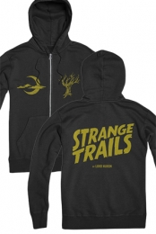 Strange Trails Zip Hoodie (Black)