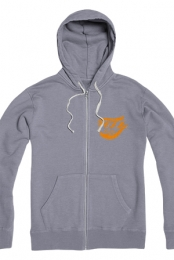 Foxx Family Zip Up Hoodie (Slate)