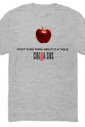 Don't Even Think About It Tee (Heather Grey)