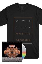 Mobile Orchestra CD + Box Tee