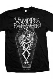 The Lovers Tee (Black) - Vampires Everywhere