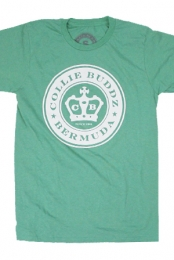 Bermuda Seal Tee (Heather Green)