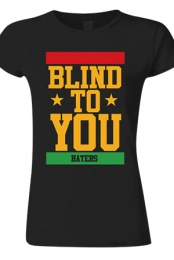 Blind To You Girls Tee (Black)
