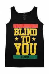 Blind To You Girls Tank (Black)