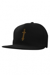 Arrow Cross Metal Snapback