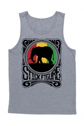 Rasta Elephant Tank (Heather Grey)