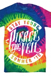 Stay Young Tie Dye (Neon Rainbow)