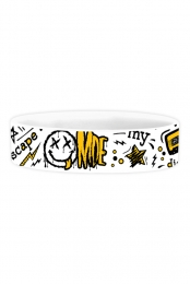 Limited Edition MDE Smiley Wristband