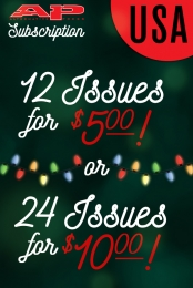 AP Magazine Holiday Subscription (U.S. Domestic)