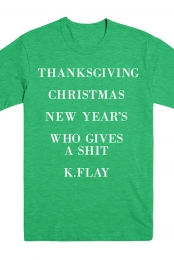Cities Holiday Tee (Envy Green)