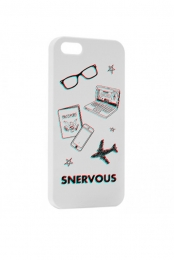 Snervous iPhone Case (White)
