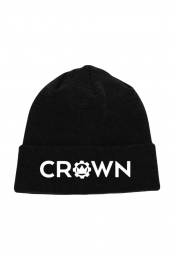 Crown Logo Beanie (Black)