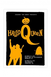 HalloQueen Limited Edition Hand-Numbered 18x24  Show Poster