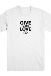 Give More Love (White)