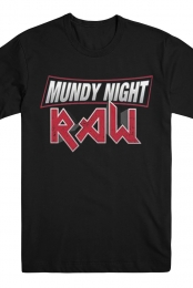Munday Night Raw Tee (Black)