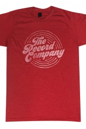 Circle Logo Tee (Heather Red)