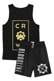 Center Men's Tank + Gym Shorts