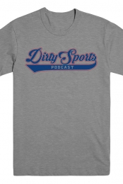 Dirty Sports Podcast Tee (Heather Grey) - Dirty Sports Podcast