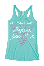 All The Lights Tank (Teal)