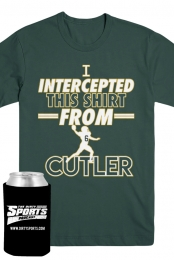 Cutler Interception Tee (Forest Green) + Koozie