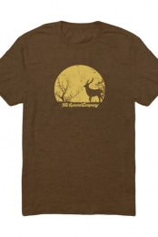 Deer Tee (Brown)