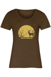 Deer Women's Tee (Brown)