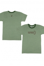 Celebrate Ringer Tee (Grass Green)