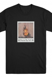 Fire Tree Tee (Black)
