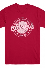 Questionable Quality Humor Tee (Cranberry)