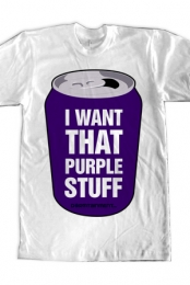 PURPLE STUFF (Guys White)