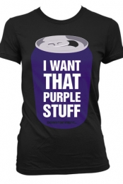 PURPLE STUFF (Girls Black)