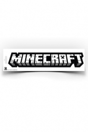 Minecraft Logo Sticker