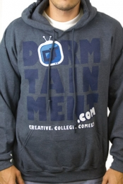 #team Dormtainment Hoodie (Heather Charcoal)