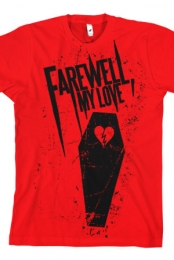 Casket Love Tee (Red)