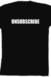 Unsubscribe (Black)