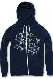 Mountains Hoodie (Navy)