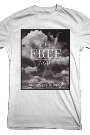 I Am Free Now I Am Free Now T-Shirt ...