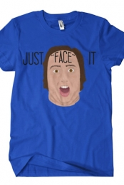 Just Face It (Royal Blue)