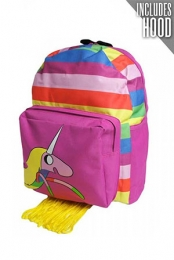 Lady Rainicorn Hooded Backpack