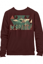 Clouded Angles Crewneck (Maroon)