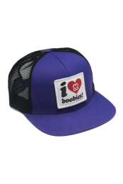 I Love Boobies! Trucker- Purple