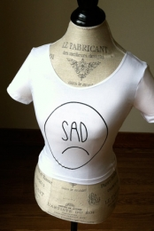 Sad Crop Top