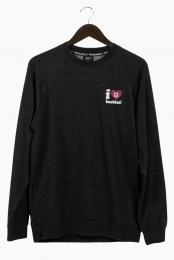 I Love Boobies! Men's Crew - Black